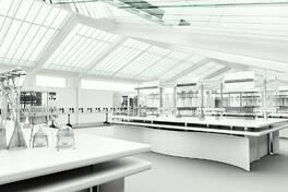 Master Builders Solutions_laboratory with antistatic, ESD and aesthetic flooring