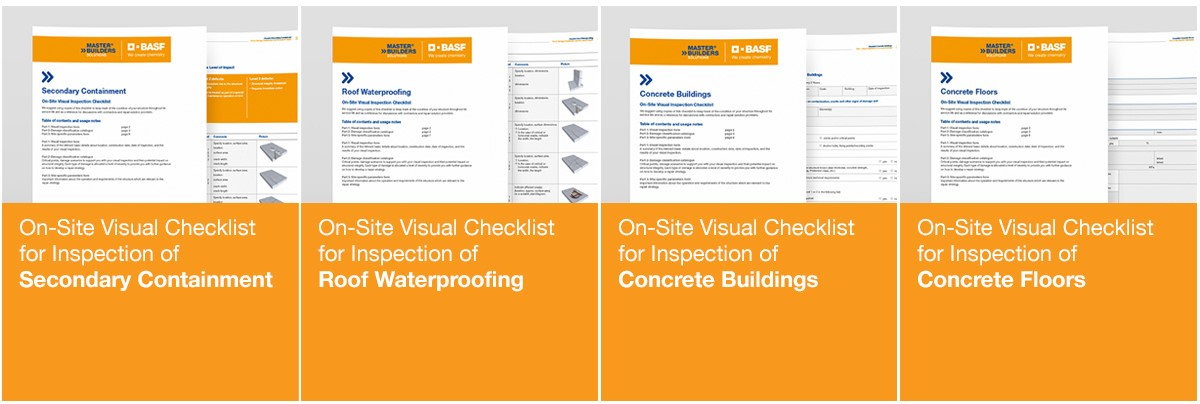 On-Site Visual Checklists