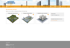 Master-Builders-Solutions_Online-Planning-Tool_Home screen