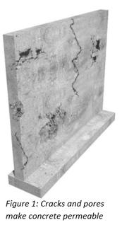 Master Builders Solutions_cracks and pores make concrete permeable