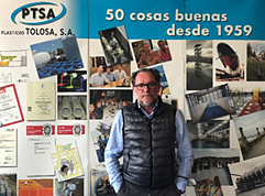 Luis Tolosa, PTSA, interview use of antistatic and electrostatic discharge flooring